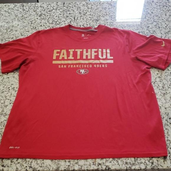nike 49ers shirt